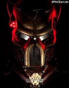 Alien vs. Predator: Elder Predator Ceremonial Maske, Fertig-Modell ... http://spaceart.de/produkte/avp004.php