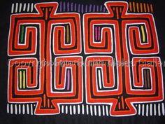 Geometric Mola Vintage San Blas Panama #623 by Rita Smith Molas Gallery
