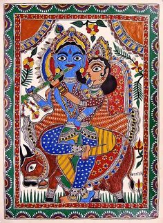 Madhubani Painting (Bihar)  #educratsweb - educratsweb blog  IMAGES, GIF, ANIMATED GIF, WALLPAPER, STICKER FOR WHATSAPP & FACEBOOK