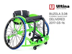 Sports wheelchair was accurately made-to-measure, putting a great emphasis on the use of athlete's capacity. As usual, we have used high-quality aluminium 7020, solid Spinergy Wheels with X-laced design, hard eloxed push rims Delfi, high-quality textile with backrest leather corners and a multilayer seating cushion – System ACTIVE. Thank you all for your favour and wish you only beautiful sports experiences with our products.