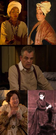 Read about the real people behind the American Horror Story characters!