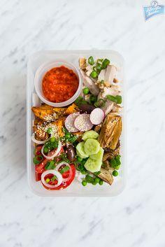 Filozofia Smaku: Make bento, not war Healthy Food, Healthy Recipes, Bento, Lunch Box, War, Vegetables, How To Make, Life, Healthy Foods
