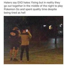 the EXO members love each other and that includes Yixing so fuck off
