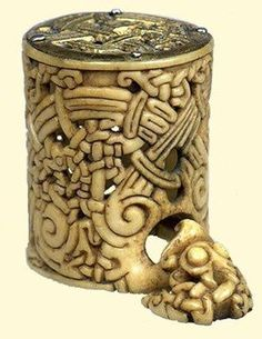 Viking object in Spain (looks like netsuke to me...)
