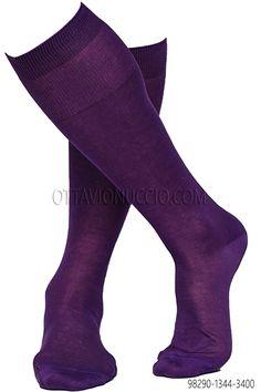 100% purple lisle cotton socks #menswear #luxury #details #madeinitaly