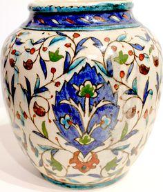 Ceramics Vase Armenian Arabesque The Common Workshop Palestine 1940   eBay