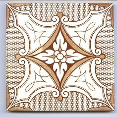 Late Victorian - 1890 to 1910 - Ceramic Tile