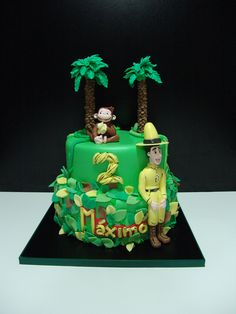 Jorge el Curioso Curious George Birthday, Ideas Para Fiestas, Baby Shower, Candy, Christmas Ornaments, Monkeys, Holiday Decor, Dragon Ball, Drinks