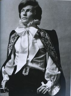 Patrick Lichfield modeling Mr. Fish's designs, 1971; photographed by Lord Snowdon. Thomas Patrick John Anson, 5th Earl of Lichfield (25 April 1939 – 11 November 2005) was an English photographer. He inherited the Earldom of Lichfield in 1960 from his paternal grandfather. In his professional practice he was known as Patrick Lichfield.