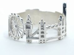 London Cityscape - Skyline Ring by shekhtwoman (Other cities available--very cool!)
