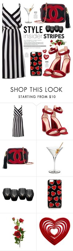 """Untitled #365"" by irixiketa ❤ liked on Polyvore featuring Marc Jacobs, Gianvito Rossi, Chanel, Eichholtz and Martha Stewart"