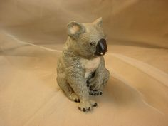 Royal Heritage Koala Bear Figurine Porcelain Ceramic 4 inch  Seller florasgarden on ebay