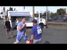 ▶ How To Win A Street Fight WIth Head Movement, Learn Simple (But Awesome) Street Fighting Techniques - YouTube