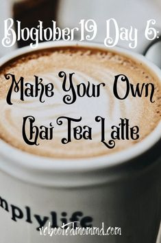 Since I mentioned chai tea as one of the things I love about fall, I decided to post a recipe. Have you ever tried to make your own chai tea latte? How To Make Greens, How To Make Tea, Coffee Ingredients, Baking Ingredients, Tea Cocktails, Tea Drinks, Alcoholic Tea, Latte Recipe, Tea Latte