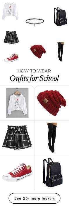 """""""Comfy Day"""" by aestheticangie on Polyvore featuring Converse and BERRICLE"""