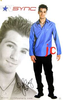 JC Chasez Nsync~ Had this poster in my room