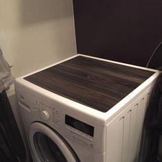 """(@lindasdekorogdesign.no) på Instagram: """"Følg med på mystory Idag, der ser dere denne vaskemaskinen få en makeover☺🌸"""" #kontaktplast"""