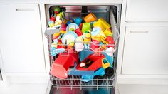 Toys in a dishwasher | Amazing things your dishwasher can do | Tesco Living