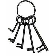 Antique Key Set - 5 Key - Metal $4.95