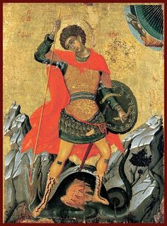 st george and the dragon icon Byzantine Icons, Byzantine Art, Dragon Icon, Orthodox Catholic, Benaki Museum, Saint George And The Dragon, Google Art Project, Christian Artwork, Art Icon