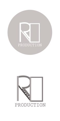 Concept logo for R&D Productions