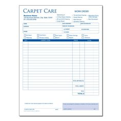 Invoice Shipping 2 Part Continuous Pest Control Work Orderinvoice Free Shipping .