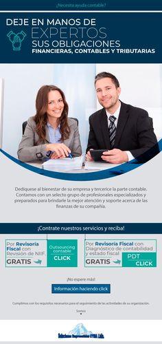 #NOVOCLICK esta con #SolucionesEmpresarialesCYMA. Su solución #contable E-mail Marketing, Accounting, Finance, Financial Statement