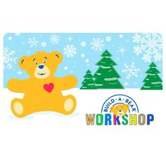 2016 Holiday Gift Card | Build-A-Bear
