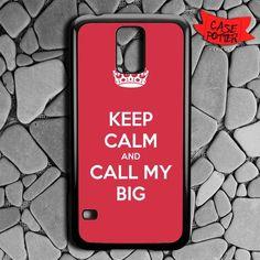 Keep Calm And Call My Big Samsung Galaxy S5 Black Case