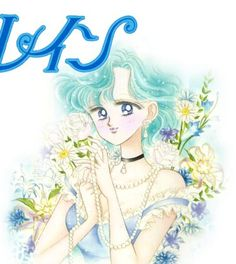 "Art from ""Miss Rain"" by manga artist & ""Sailor Moon"" creator Naoko Takeuchi."