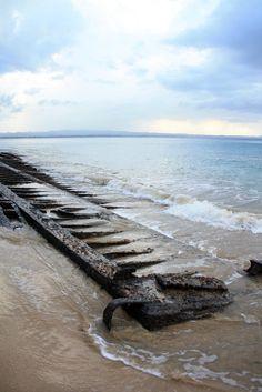 Shipwreck Crash Boat Beach Aguadilla Puerto Rico