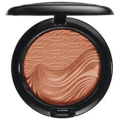 MAC 'Magnetic Nude' Extra Dimension Skinfinish ($30) ❤ liked on Polyvore featuring beauty products, makeup, face makeup, face powder, beauty, blush, faces and mac cosmetics