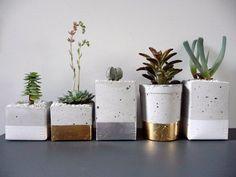 DIY : Pots en ciment | À la mode Montréal