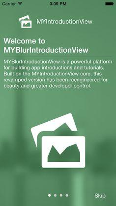 MYBlurIntroductionView