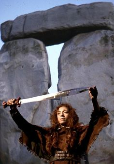 Celtic Warrior Queen Boadicea - one of the most amazing women in history. (played by Alex Kingston)