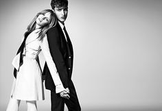 So charming...<3  Burberry Black Label Spring/Summer 2012 Campaign