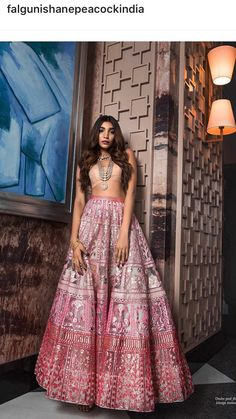Buy beautiful Designer fully custom made bridal lehenga choli and party wear lehenga choli on Beautiful Latest Designs available in all comfortable price range.Buy Designer Collection Online : Call/ WhatsApp us on : Indian Outfits Modern, Indian Designer Outfits, Indian Wedding Outfits, Dress Indian Style, Indian Dresses, Indian Attire, Indian Ethnic Wear, Ethnic Fashion, Indian Fashion