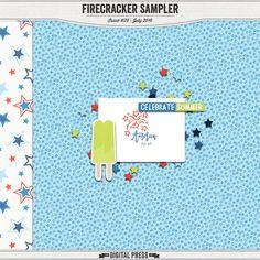 Quality DigiScrap Freebies: Firecracker tiny kit freebie from The Digital Press
