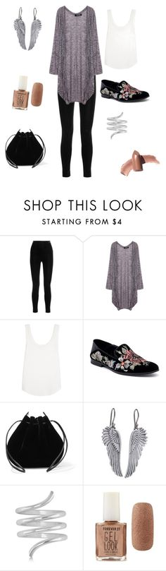 """""""Untitled #119"""" by skylovessave ❤ liked on Polyvore featuring Balmain, LnA, Alexander McQueen, Vanessa Seward, Lucky Brand, Allurez, Forever 21 and Elizabeth Arden"""