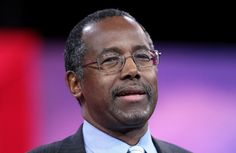 GOP candidate Ben Carson condemned political correctness while visiting Michigan for the first time since he a...