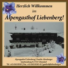 Alpengashof Liebenberg