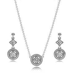 Pandora Vintage Allure Dropper Jewellery Set CS026