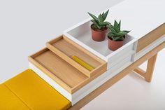 THE KROBO BENCH Design by Anderssen & Voll