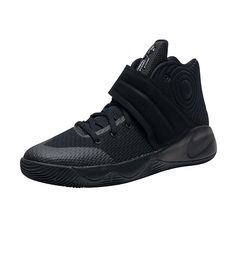 NIKE+Kyrie+Irving+Kyrie+2+sneaker+Kid's+low+top+shoe+Lace+up+closure+Woven+upper+Adjustable,+printed+Velcro+strap+with+NIKE+swoosh+logo+branding+detail+Cushioned+inner+sole+for+comfort+Traction+rubber+outsole+for+ultimate+performance