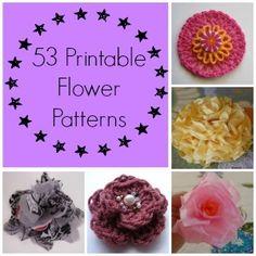 53 Printable Flower Patterns