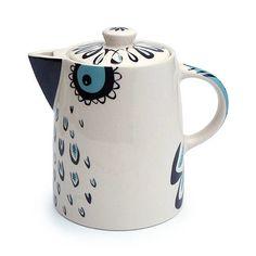 owl teapot by hannah turner ceramics