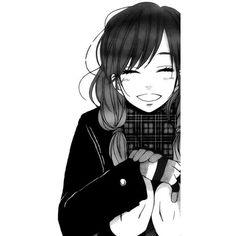 ٩(๑• -๑)۶ ANIME IlLUSTRATION ❤ liked on Polyvore featuring anime, art, anime girls, manga and black