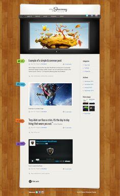 My Journey WordPress Theme for Gallery, Portfolios...