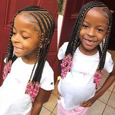 The best human hair online shop - Bea Hairs - Kinderfrisuren Lil Girl Hairstyles, Black Girl Braided Hairstyles, Black Kids Hairstyles, Girls Natural Hairstyles, My Hairstyle, Elegant Hairstyles, Little Girl Braid Styles, Kid Braid Styles, Little Girl Braids