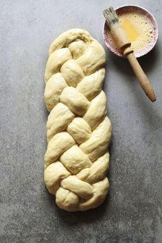 Polish Egg-Twist Bread (Chalka) Recipe